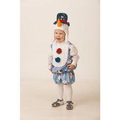 """Карнавальный костюм """"Снеговичок Снежник """" Jeanees для мальчика"""