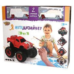 "Набор для творчества 3 в 1 Yako Toys ""Я автодизайнер"", M6540-2"