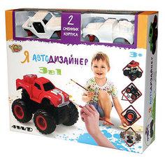 "Набор для творчества 3 в 1 Yako Toys ""Я автодизайнер"", M6540-3"