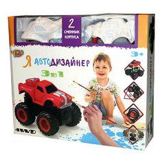 "Набор для творчества 3 в 1 Yako Toys ""Я автодизайнер"", M6540-6"