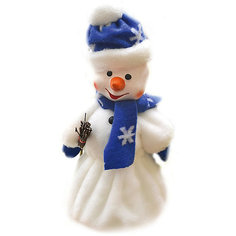 "Кукла ""Снеговик с метлой"" под елку, 40 см (с ёмкостью для конфет) Батик"