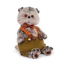 Мягкая игрушка Budi Basa Кот Басик в штанах с подтяжками, 25 см