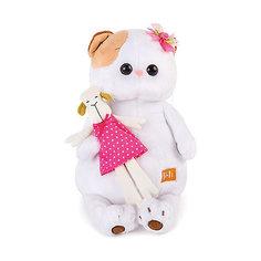 Мягкая игрушка Budi Basa Кошка Ли-Ли с овечкой, 24 см