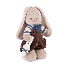 Мягкая игрушка Budi Basa Зайка Ми бархатный шоколад, 25 см