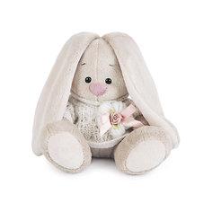 Мягкая игрушка Budi Basa Зайка Ми в вязаном свитере, 15 см