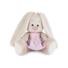 Мягкая игрушка Budi Basa Зайка Ми в платье в полоску, 15 см