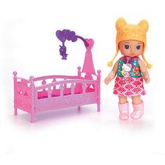 """Мини-кукла Карапуз """"Hello Kitty. Моя подружка Машенька"""", в желтой шапке"""