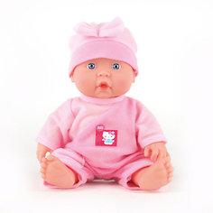 """Интерактивная кукла Карапуз """"Hello Kitty"""" 24 см (в розовом)"""