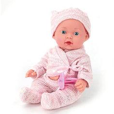 """Интерактивная кукла Карапуз """"Hello Kitty"""" с аксессуарами 25 см, в розовом"""