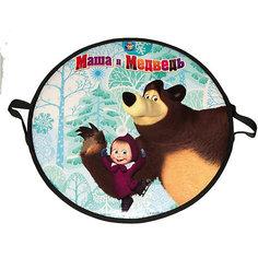 "Ледянка 1Toy ""Маша и Медведь"" круглая, 52 см"
