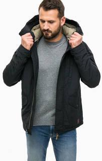 Хлопковая куртка с капюшоном и карманами Jack & Jones