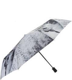 Складной зонт с куполом из сатина Trust