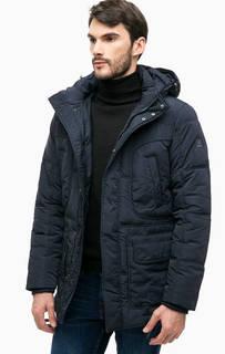 Темно-синяя куртка с капюшоном Navigare