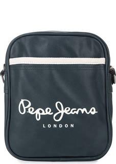 Маленькая синяя сумка через плечо Pepe Jeans