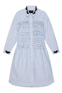 Хлопковое платье-рубашка Simone Rocha
