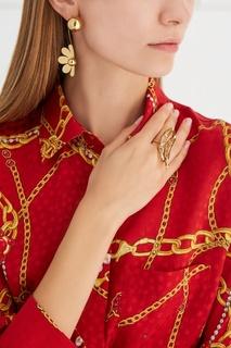 Позолоченное кольцо Natasha Zinko