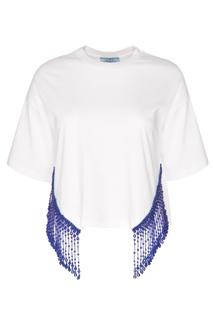 Хлопковая футболка Prada