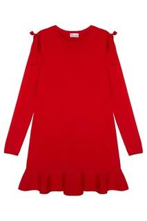Платье с воланом RED Valentino