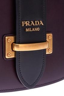 Кожаная сумка Pionniere Prada