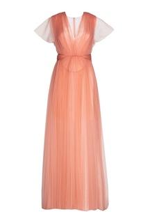 Драпированное платье Delpozo