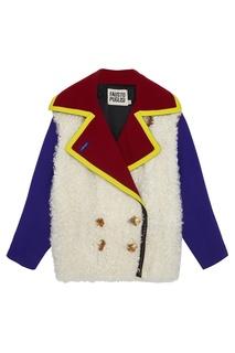 Шерстяная куртка Fausto Puglisi