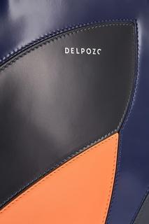Кожаная сумка Delpozo