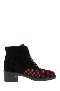 Кожаные ботинки Pegase Rose Laurence Dacade