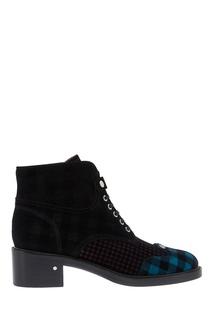 Кожаные ботинки Pegase Blue Laurence Dacade
