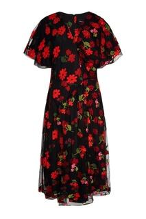 Платье с вышивкой Simone Rocha