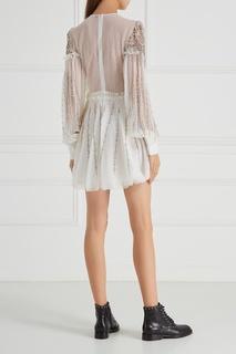 Гипюровое платье с вышивкой Wandering
