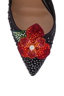 Туфли с кристаллами Feerica 100 Christian Louboutin