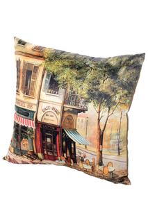 Подушка Парижское Кафе GiftnHome