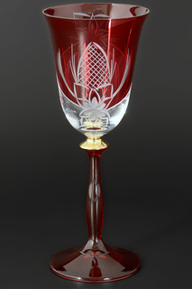 Набор фужеров для вина 185 мл Bohemia