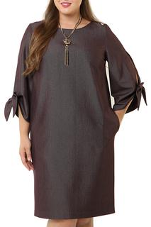 Свободное платье с рукавами на завязках MONTEBELLUNA