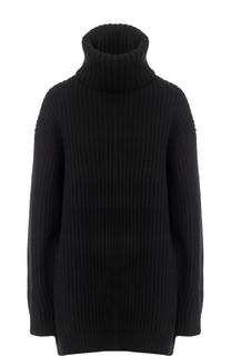 Шерстяной свитер фактурной вязки Acne Studios