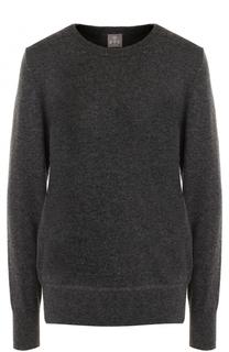 Кашемировый пуловер с бантами на спинке FTC