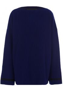 Шерстяной пуловер с вырезом-лодочка Haider Ackermann