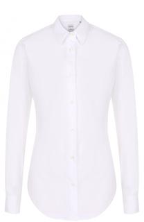 Приталенная хлопковая блуза sara roka
