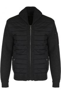 Утепленная куртка на молнии с шалевым воротником Polo Ralph Lauren