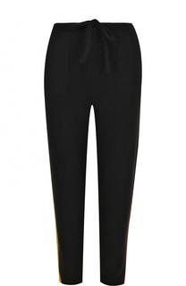 Кашемировые брюки с контрастными лампасами The Elder Statesman