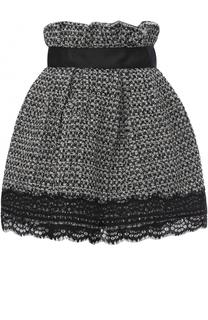 Буклированная мини-юбка с завышенной талией Faith Connexion