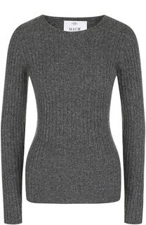 Кашемировый пуловер фактурной вязки Allude