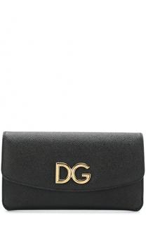 Набор из кожаного портмоне и футляров Dolce & Gabbana