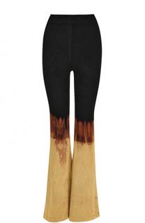 Расклешенные брюки с принтом Balmain