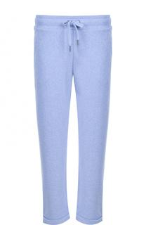 Укороченные брюки с отворотами Derek Rose