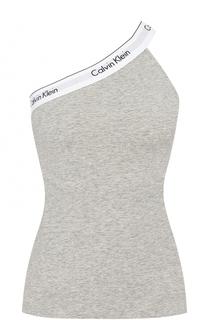Однотонный топ с открытым плечом Calvin Klein Underwear