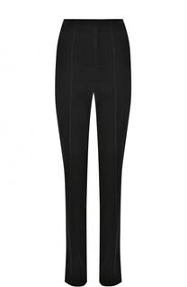 Хлопковые брюки со стрелками и завышенной талией Diane Von Furstenberg