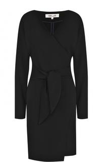 Мини-платье с запахом и поясом Diane Von Furstenberg
