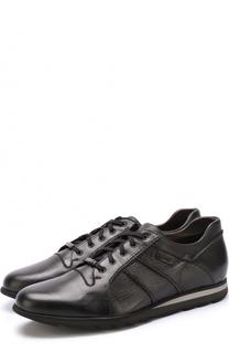 Кожаные кроссовки на шнуровке Barrett