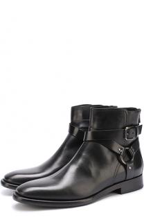 Высокие кожаные ботинки Massa на молнии Dolce & Gabbana